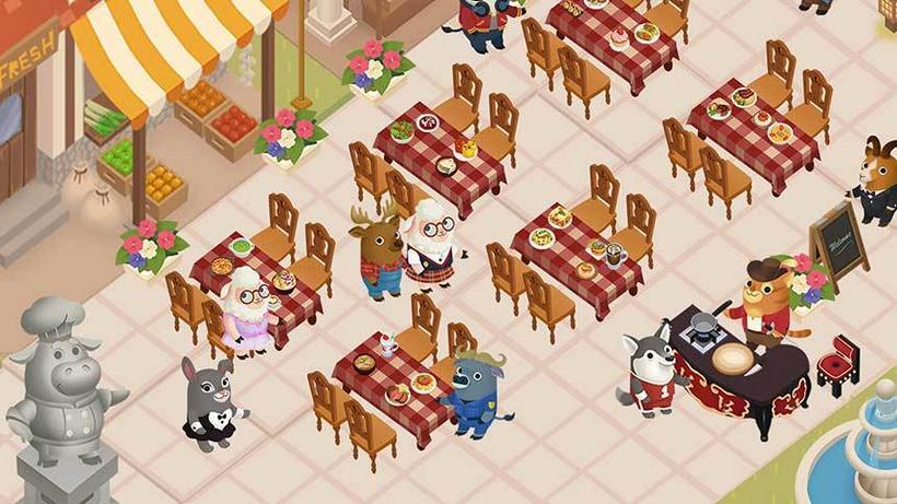 gameplanet Dining Zoo