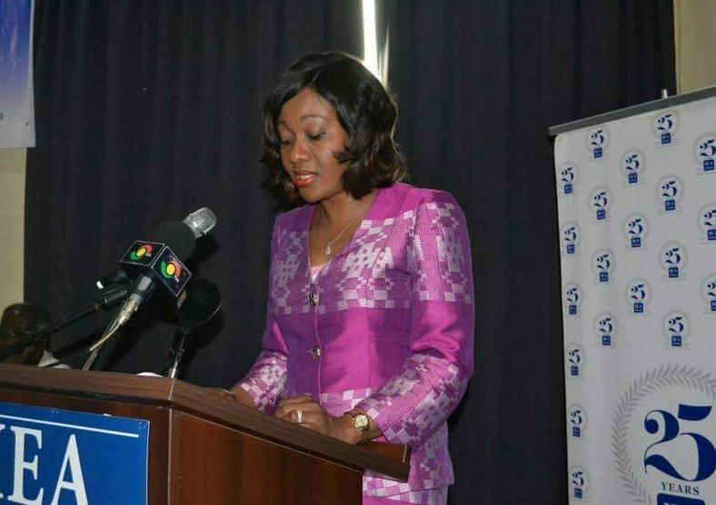 Mrs. Jean Mensa, EC Chairperson