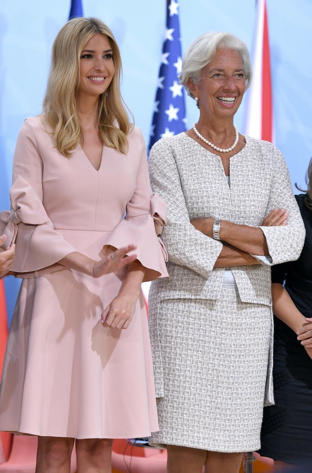 Kristina Lagard i Ivanka Tramp nedavno na Samitu G20 u Hamburgu
