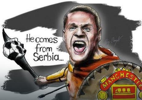 Nemanja Vidić je ljubimac navijača Mančester junajteda širom sveta