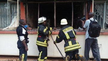County Offices Gutted by 2am Fire