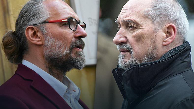 Mateusz Kijowski i Antoni Macierewicz