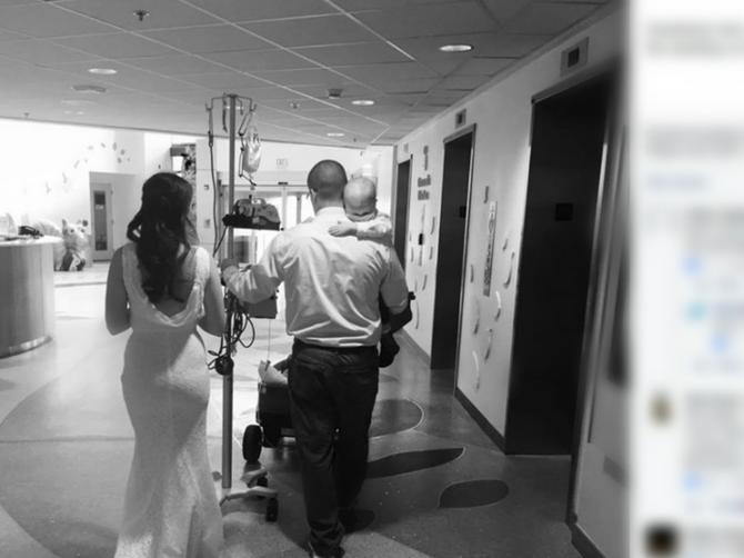 Fotografija zbog koje svi plaču: Par se venčao u bolnici, a razlog je STRAŠAN!
