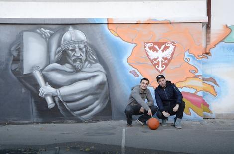 Muralom ulep ali kraj istorija srbije oslikana na for Mural u vukovarskoj ulici