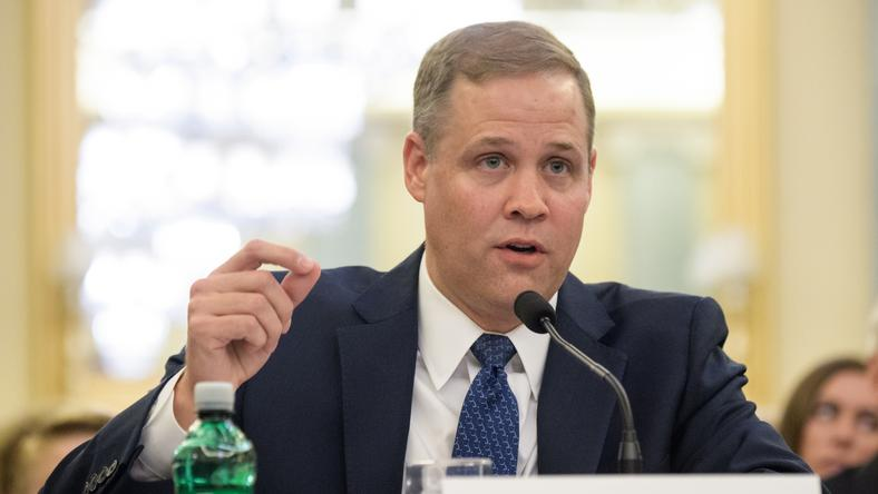 Jim Bridenstine /Fotó: AFP