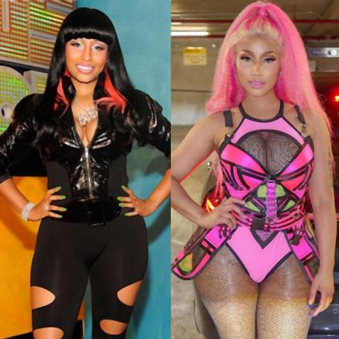 Nicki Minaj - 10 Year Challenge