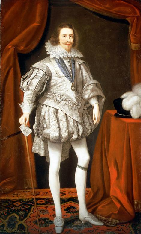 Džordž Vilers na slici Danijela Majtensa Sarijeg iz 1619.