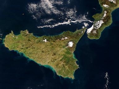 SPACE-MOUNT ETNA