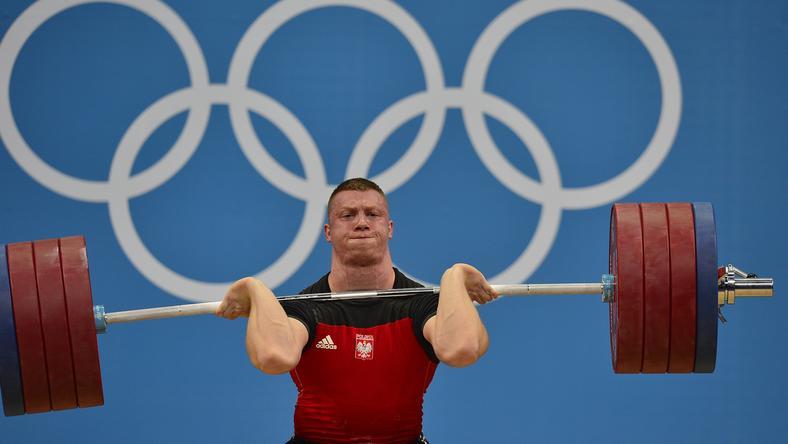 Doppingolt a súlyemelő /Fotó: AFP