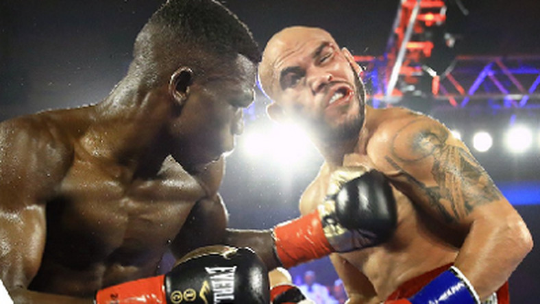 Commey stops Beltran in eighth round