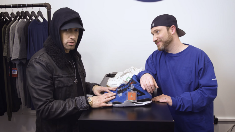 "Eminem x Air Jordan IV ""Encore"" 2017"