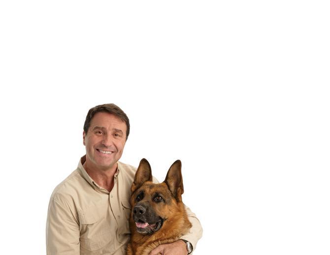 Voditelj i njegov dragi pas