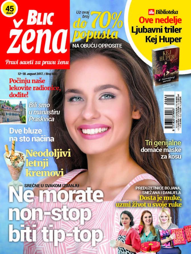 Nova Blic žena čeka vas sa novim savetima i temama
