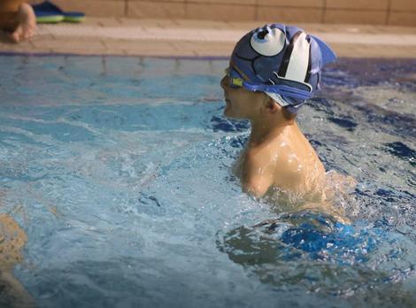 Ismail na plivanju