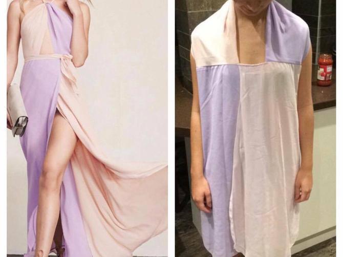 Naručile su divne haljine sa interneta: A kada je paket stigao, mogle su samo da SEDNU I ZAPLAČU