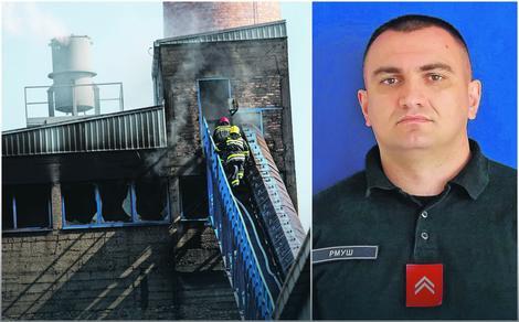 Vatrogasac Milan je stradao u stravičnom požaru na Adi Huji