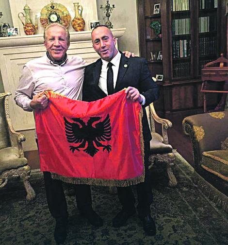 Bedžet Pacoli i Ramuš Haradinaj