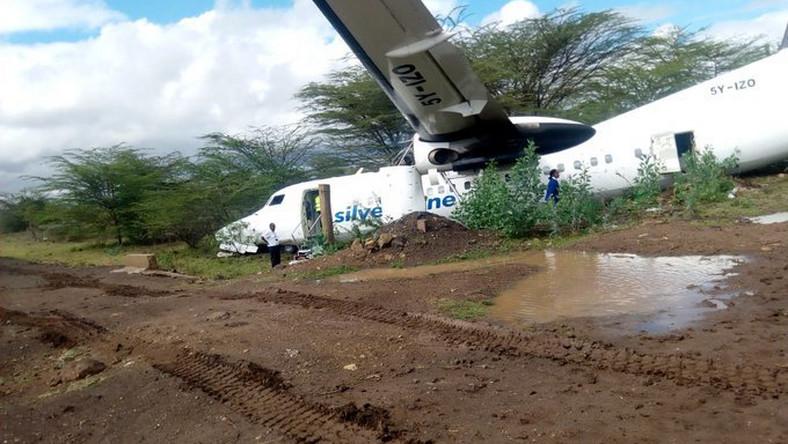 Plane skids off Runway in Kenya - International