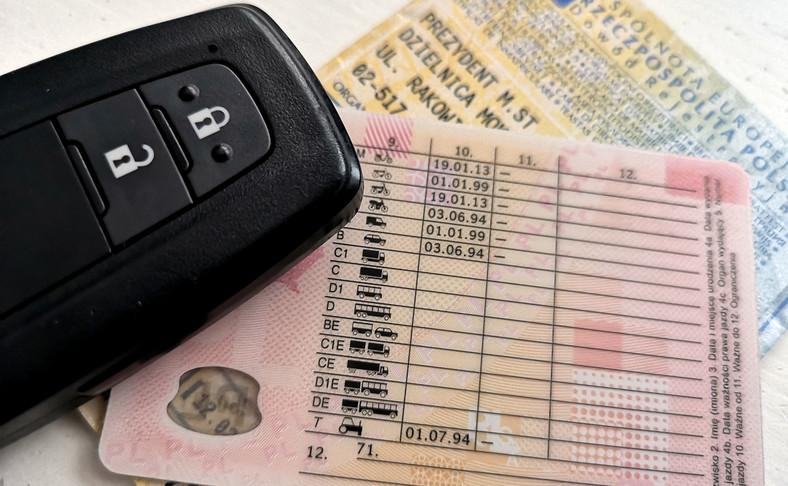 Prawo jazdy i dowód rejestracyjny