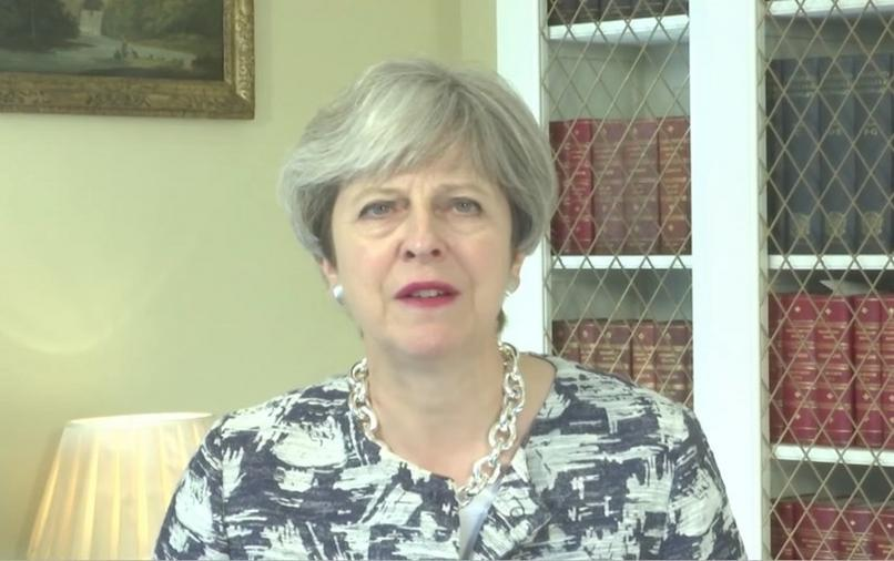 Theresa May/Sursă foto: YouTube - Pride in London