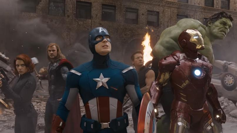 The Avengers în 2012 (foto: youtube.com)