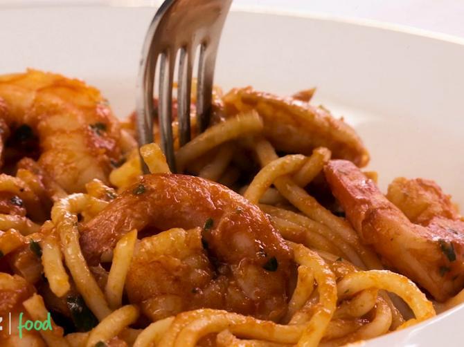 Magične špagete, podsećaju na more, a tako su site