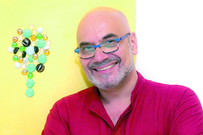 Pedja  Filipovic, autor koncepta Anđeoski dodir vode