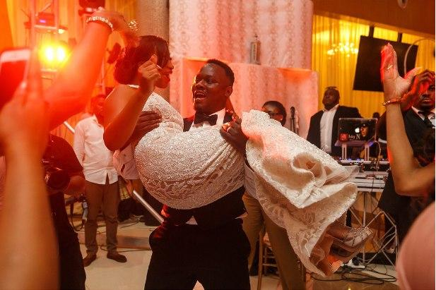 Dr Sid and Simi Osomo's 2014 wedding party!