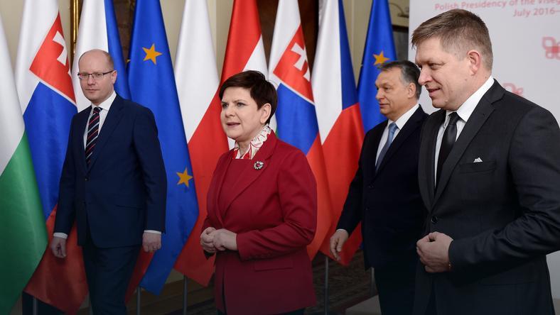 Znalezione obrazy dla zapytania szczyt grupy wyszehradzkiej  3 marc