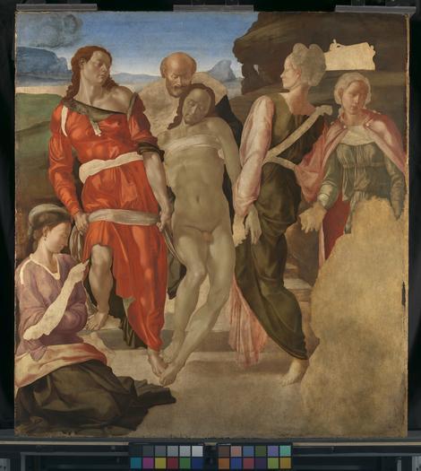 Mikelanđelo, Polaganje u grob, 1500-1.