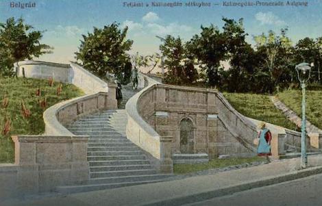 Malo stepenište na Kalemegdanu