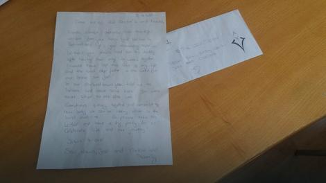 Pismo zahvalnosti lekarima Urgentnog centra