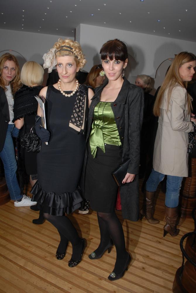 Lena i Isidora Bjelica 2009. u Beogradu