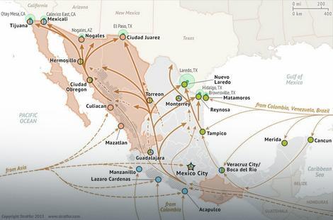 Operacije Sinaloa kartela u Meksiku