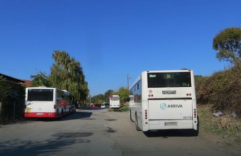 Dečak ukrao autobus u Beogradskoj ulici u Nišu