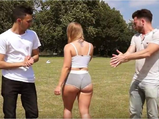Odlučila je da testira muškarce svojim oblinama i neprijatno se iznenadila!