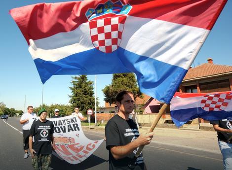 """""""Ne ćirilici"""" - Vukovar, Hrvatska"""