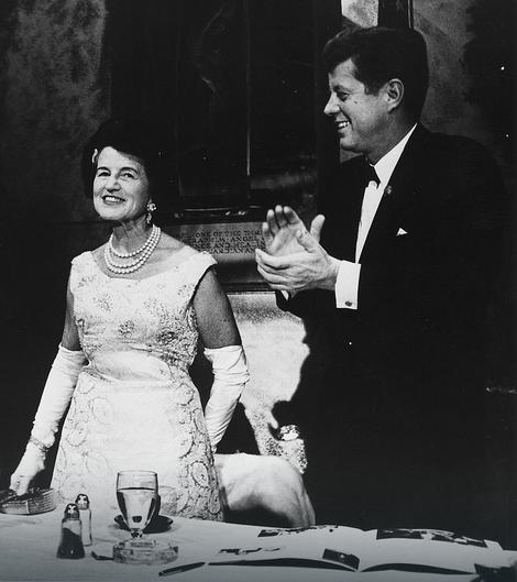 Predsednik Džon F. Kenedi i Rouz