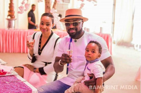 Pokello Nare, Elikem and their son, Tristan