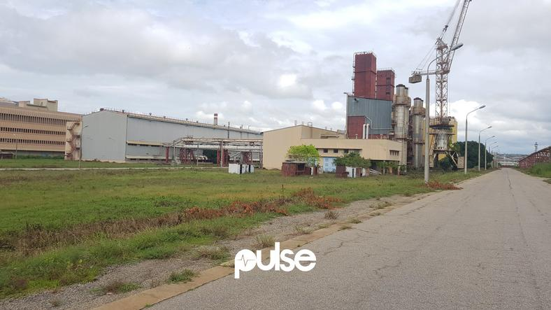 The Ajaokuta Steel Company lies dormant as it is yet to produce a beam of steel
