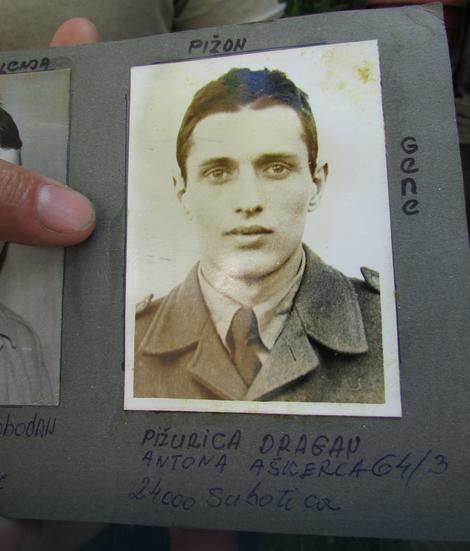 Dragan Pižurica iz vojničkih dana