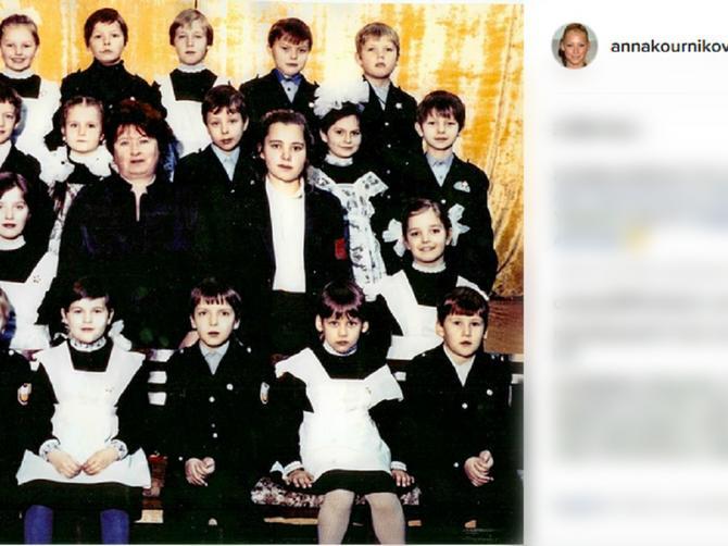 Da li možete da je pronađete? Seksi teniserka objavila sliku iz detinjstva