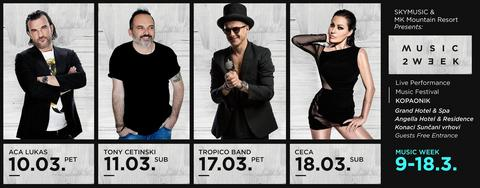 Music week festival i portal Pulsonline.rs vam poklanjaju 10 aranžmana!