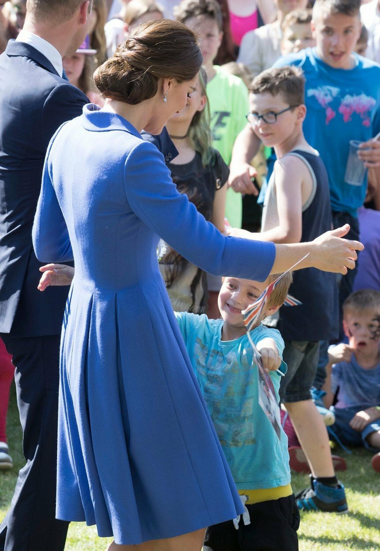 Deca obožavaju Kejt: pre nekoliko meseci u Nemačkoj