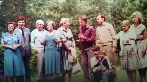 Johana i Ervin sa njenom porodicom