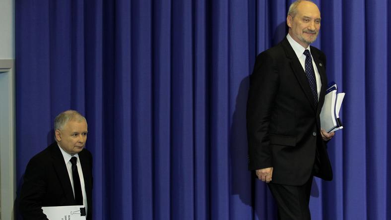 Jarosław Kaczyński i Antoni Macierewicz