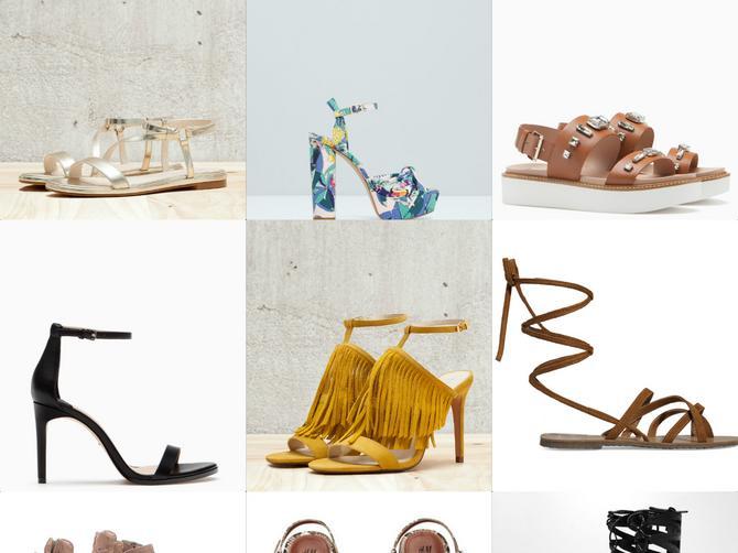 Ovo su najlepše sandale: Koje su najskuplje, a koje najjeftinije? Pogodite!