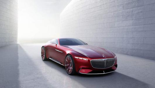 Vision Mercedes-Maybach 6 - luksus absolutny