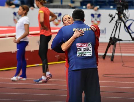 Ivana Španović i Asmir Kolašinac