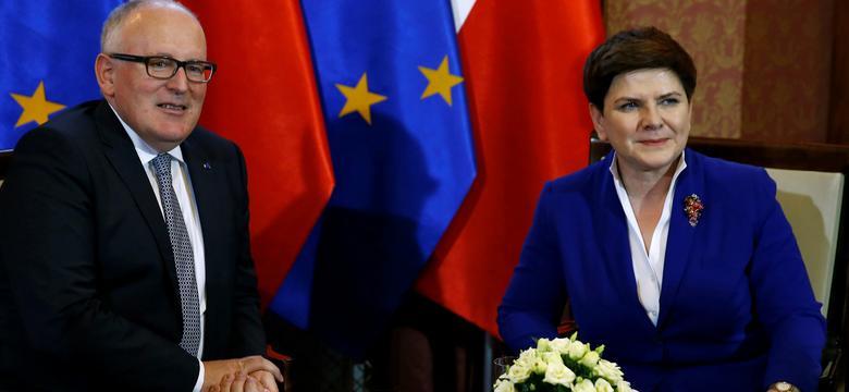 """Rzeczpospolita"""": Bruksela znów naciska na Polskę ws. Trybunału Konstytucyjnego"""